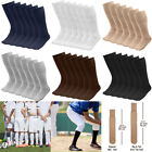 """6/18 Pairs Men's Athletic Sports Tube Socks Over the Calf  25"""" Length Size 10-15"""
