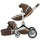2019Hot mom Baby Stroller 3 in 1 high view Bassinet 360 buggy Pushchair&car seat