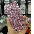 NEW DELUX COOL LUXURY BLING PINK DIAMANTE CASE 4 VARIOUS MOBILE PHONES 6 7 8 9