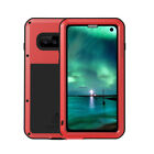 LOVE MEI Military Shockproof Metal Case Cover for Samsung Galaxy S10 Plus Note 9