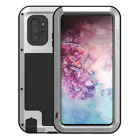 LOVE MEI Military Shockproof Metal Case for Samsung Galaxy S10 Plus Note 10 Plus