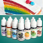 10 Color Macaron Cake Food Coloring Decorating Baking Set - Pastry-Tools
