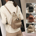 Convertible Croc Print Faux Leather Small Mini Backpack Shoulder Bag Purse