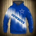 DALLAS COWBOYS Hoodie Hooded Zip Sweatshirt Pullover S-5XL Football NFL 2019 NEW on eBay
