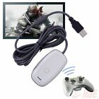 Black/white PC Wireless Controller Gaming USB Receiver Adapter for XBOX 360 w3