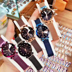 Luxury Starry Sky Watch Magnet Strap Free Buckle Stainless Steel Women Gift New image