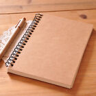 Reeves Retro Spiral Bound Coil Sketch Book Blank Notebook Kraft Sketch Paper
