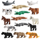 Lego Figure Panther Snow Leopard Single Sale Crocodile Tiger Animal Cow Shark