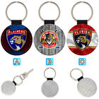 Florida Panthers Leather Glitter Key Chain Ring Gift Silver Car $3.99 USD on eBay