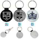 Los Angeles Kings Leather Glitter Key Chain Ring Gift Silver Car $3.99 USD on eBay