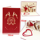 3D Handmade Pop up Greeting Card Engagement Wedding Anniversary Valentines Gifts