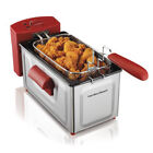 2 Liter Professional Oil Powered Deep Fryer Fast Cooking With Heating Element photo