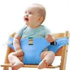 Portable Baby Chair Infant Seat Product Lunch Chair Seat Belt High Harness
