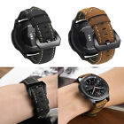 22mm Leather Band Wrist Strap Panerrai-Style For Brreitling Navitimer Watch image