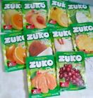 Zuko Many Flavors No Sugar Needed Makes 2 Liters Of Drink Mix 15g/11gfrom Mexico