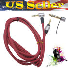 3.5mm & 6.5mm Audio Jack Coiled Aux Wire Cable Cord Replaces for Beats by Dr.Dre