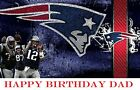 New England Patriots NFL  Football  Edible image Cake topper on eBay