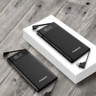 FDGAO 50000mah Power Bank LCD 3Input 3Output Battery Charger For Universal Phone