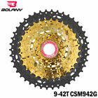 BOLANY 9 Speed 11-42T 11-46T 11-50T MTB Cassette Bike Mountain Bicycle Freewheel