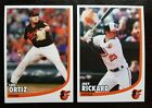 2019 Baltimore Orioles FanFest team issued photo cards postcards **NEW**