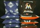 Florida Marlins Tampa Bay Rays Set of 8 Cornhole Bean Bags FREE SHIPPING on Ebay