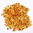 AAA+ Natural Citrine Golden Yellow topaz faceted trillion shape gemstone 4mm-8mm