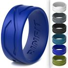 Kyпить  Men's Silicone Wedding Ring/Rubber Band- Unique Patented Design by Rinfit rings на еВаy.соm