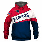 NEW ENGLAND PATRIOTS SUPER BOWL LIII Hoodie Sweatshirt Pullover S-5XL NFL NEW on eBay