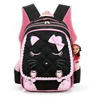 Girls School Bags Children Backpack Bookbag Cute Cat Princess Shoulder Travel