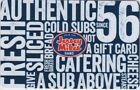 """Jersey Mike's Subs """"A Sub Above"""" Gift Cards - Collectible Only - Your Choice!"""