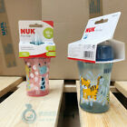 NUK BABY SIPPY CUP with retractable drinking straw made of flexible silicone NEW