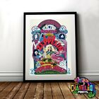 Led Zeppelin Vintage Poster Print In A3 A4