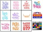 Vinyl Decal Sticker Motivation Quote B Home Wall Cup Car You Choose Color Size