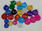 CUSTOM ENGRAVED PERSONALIZED PET TAG ID DOG CAT NAME TAGS OR KEY TAGS