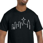 Frasier T-Shirt NEW (NWT) *Pick your color & size* Seattle skyline image