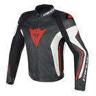 Dainese Assen Black White Fluo Red Leather Motorcycle Jacket NEW RRP £389.99