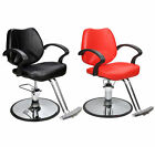 Hydraulic Barber Chair Salon Beauty Spa Hair Styling Equipment 2057  Black/Red