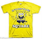 SPONGE BOB Hip To Be Square T-shirt T-shirt cotton officially licensed