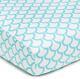 American Baby Company 100% Natural Cotton Percale Fitted Crib Sheet for Standard