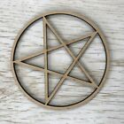 MDF Wooden Pentacle Pentagram - Various Sizes & Quantities - Wiccan Pagan Gothic