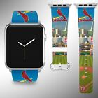 St. Louis Cardinals Apple Watch Band 38 40 42 44 mm Series 1 2 3 4 Wrist Strap 2 on Ebay