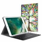 For iPad 9.7 6th Generation 2018 / 5th 2017 Case Cover w/ Bluetooth Keyboard