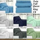 1800 Count Super Deluxe Hotel Quality 4 Piece Deep Pocket Bed Sheet Set NEW image