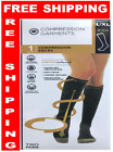 2 Pairs Copper Fit Energy Knee High Compression Socks, Black SM & L/XL~Free Ship