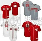 Yasiel Puig 66 Cincinnati Reds Men Flex Base Jersey New Stitched 2019 Baseball