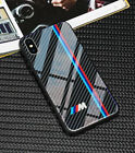 Tempered glass BMW M3 M3 AMG Phone Case for iphone X XS Mas 6 6s 7 8 plus cases