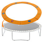 Trampoline Replacement Safety Pad Round Spring Cover 10/12/14/15FT OrangeCartoon image