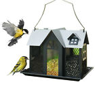 KINGSYARD Metal Mesh Triple Bird Feeder Squirrel Proof Wildlife Seed Feeders New