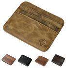 Men's Genuine Leather Thin Wallet ID Money Credit Card Holder Pocket Case CHIC