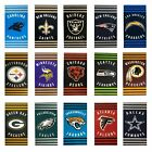 """NEW Stripes Football Beach Towel Officially Licensed 30"""" x 60"""" - Pick Your Team $17.99 USD on eBay"""